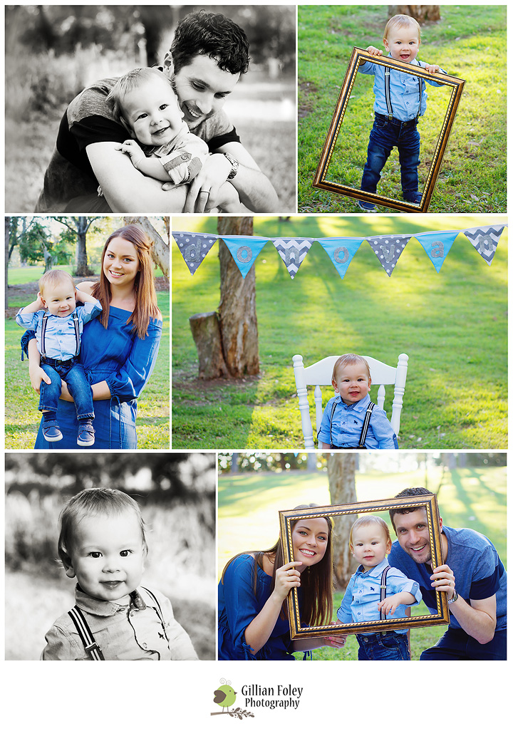 Donovan's first birthday session | Gillian Foley Photography