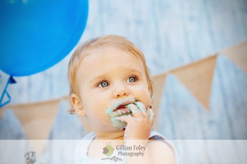 Cake Smash   Gillian Foley Photography