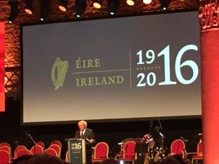 A stirring speech from President Michael D. Higgins
