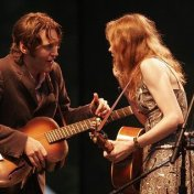 Gillian Welch & David Rawlings. Hardly Strictly Bluegrass Festival, Golden Gate Park.