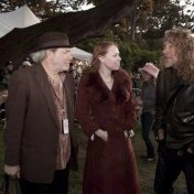 Buddy Miller, Gillian Welch, & Robert Plant at Hardly Strictly Bluegrass, Golden Gate Park 2009.