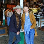 Willie and Gilly. Pedernales, Texas. March 2001