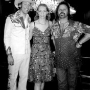 David, Gillian, and Brian Taranto at the Fillmore West. October, 2005