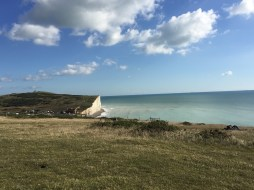 View from cliffs at Birling Gap