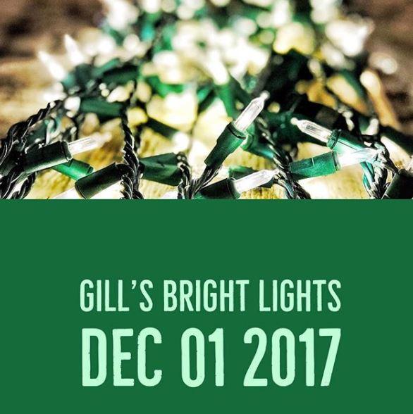 Gill's Bright Lights opens December 1 2017