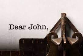 dear John typewriter. are you addicted to email?