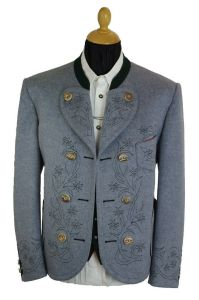 traditional men's austrian jacket