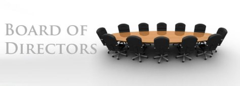 table and chairs for board of directors