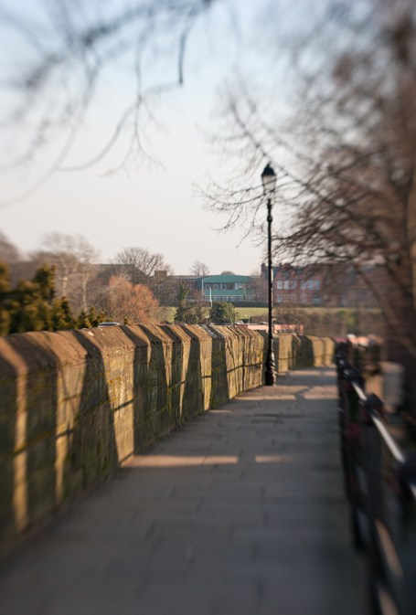 City walls, Chester
