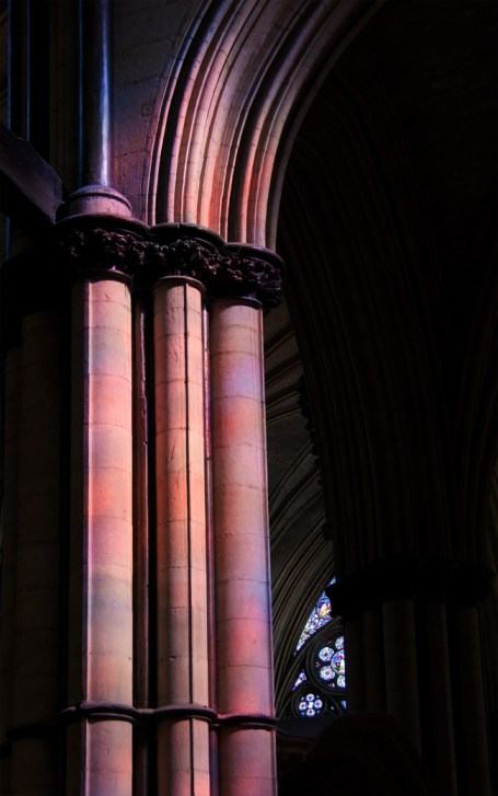 Columns, Lincoln Cathedral