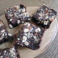 Spiced Hazelnut Brownies