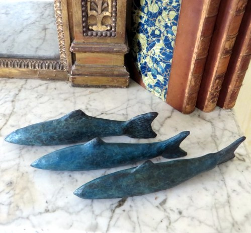 sculptureforthecountryhome, bronze sculpture, Gilly Thomas Sculpture,fishing gift, home decor, gift for men, presents for fish lovers, solid bronze