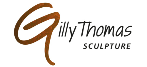 Gilly Thomas Bronze Sculpture Logo