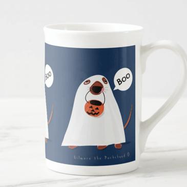 scary mug