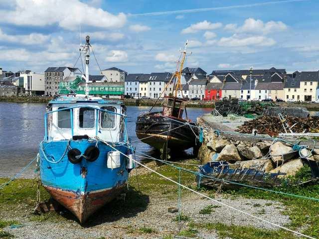 Vues du port de Galway