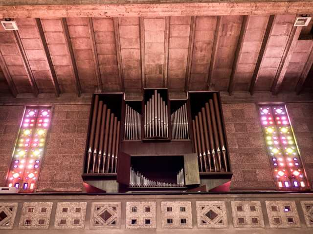 L'orgue de l'église Saint Joseph