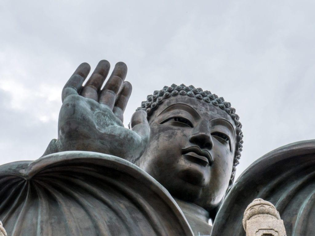 Le bouddha géant monastère de Po Lin