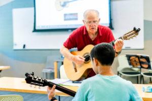 Gordon Gibson teaches guitar chords