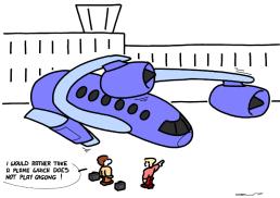 – Je préférerais prendre un avion qui ne joue pas au qigong ! https://gilscow.wordpress.com/2017/06/16/qigong-pour-avions-qigong-for-planes/