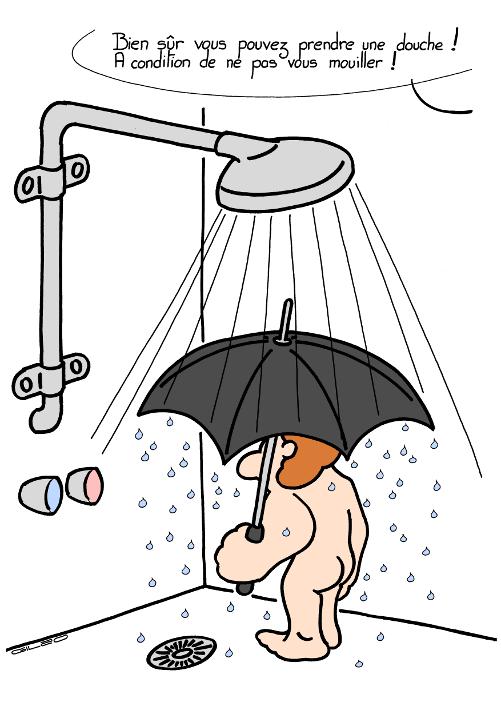 douche shower les dessins d humeur
