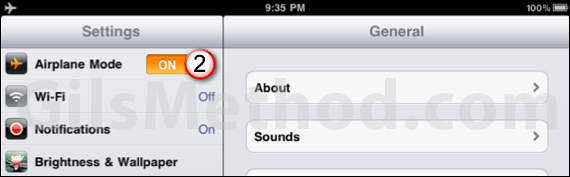 airplane mode 7 Tips to Help You Maximize Your iPads Battery Life