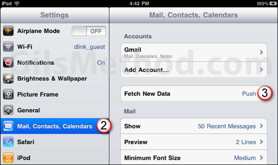 ipad battery tip mail fetching 7 Tips to Help You Maximize Your iPads Battery Life