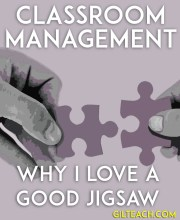 Classroom Management: Why I Love a Good Jigsaw