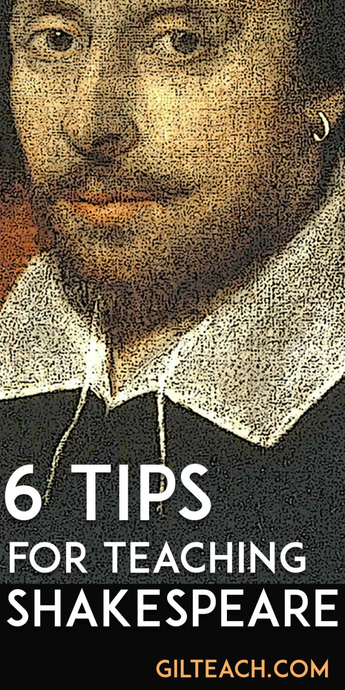 6 tips for teaching shakespeare