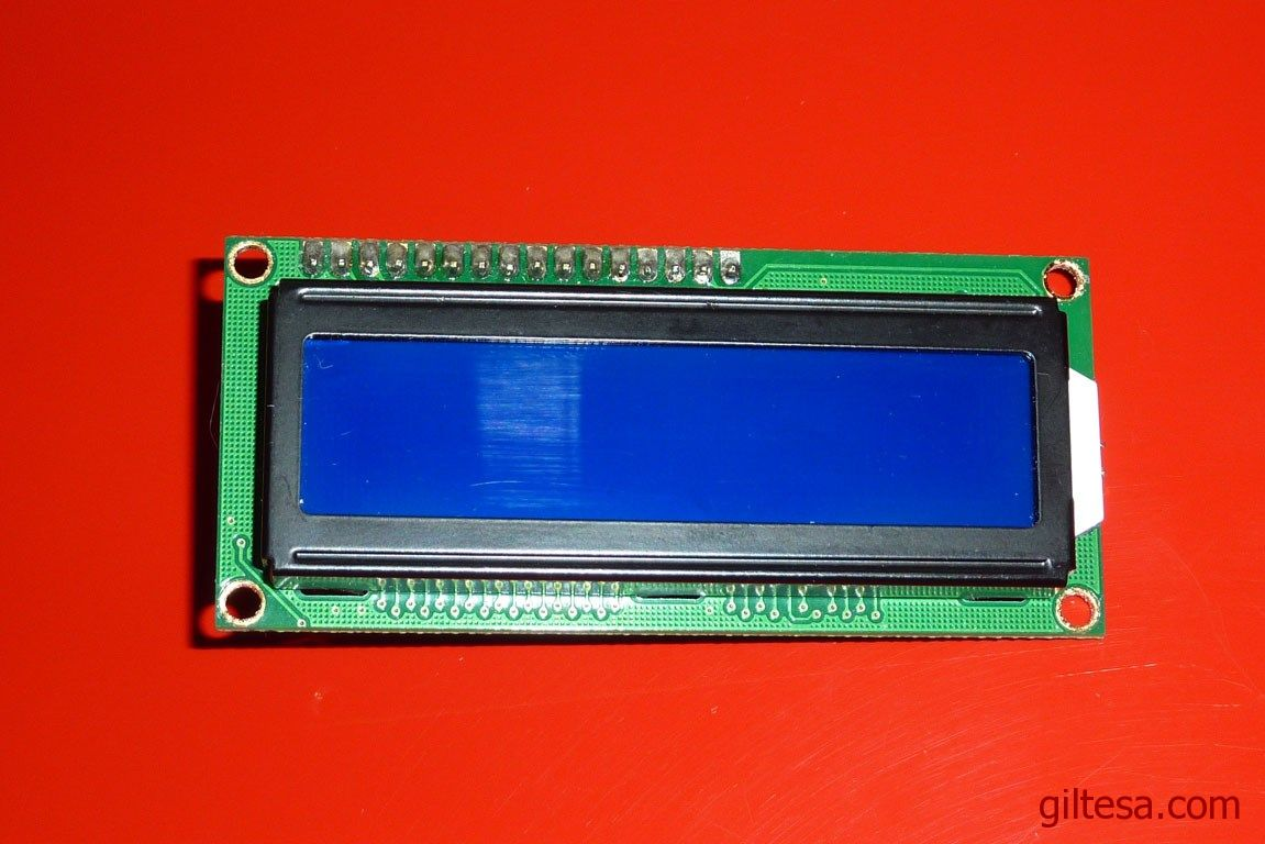 Menú en un LCD con Arduino