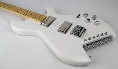 Gimenez Guitars Saint in white chrome