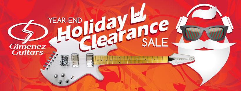 Gimenez Guitars electric guitar clearance sale