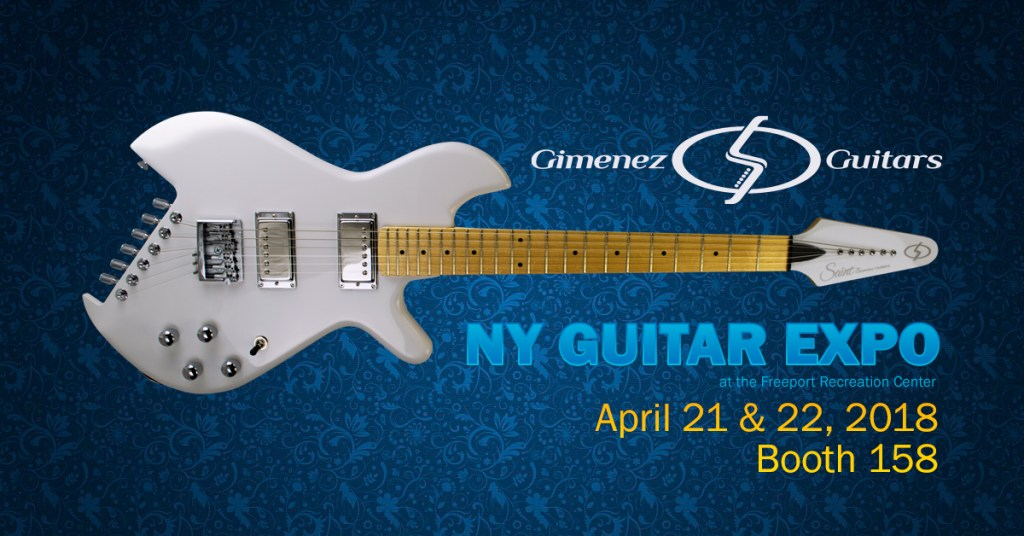 Gimenez Guitars at NY Guitar Expo