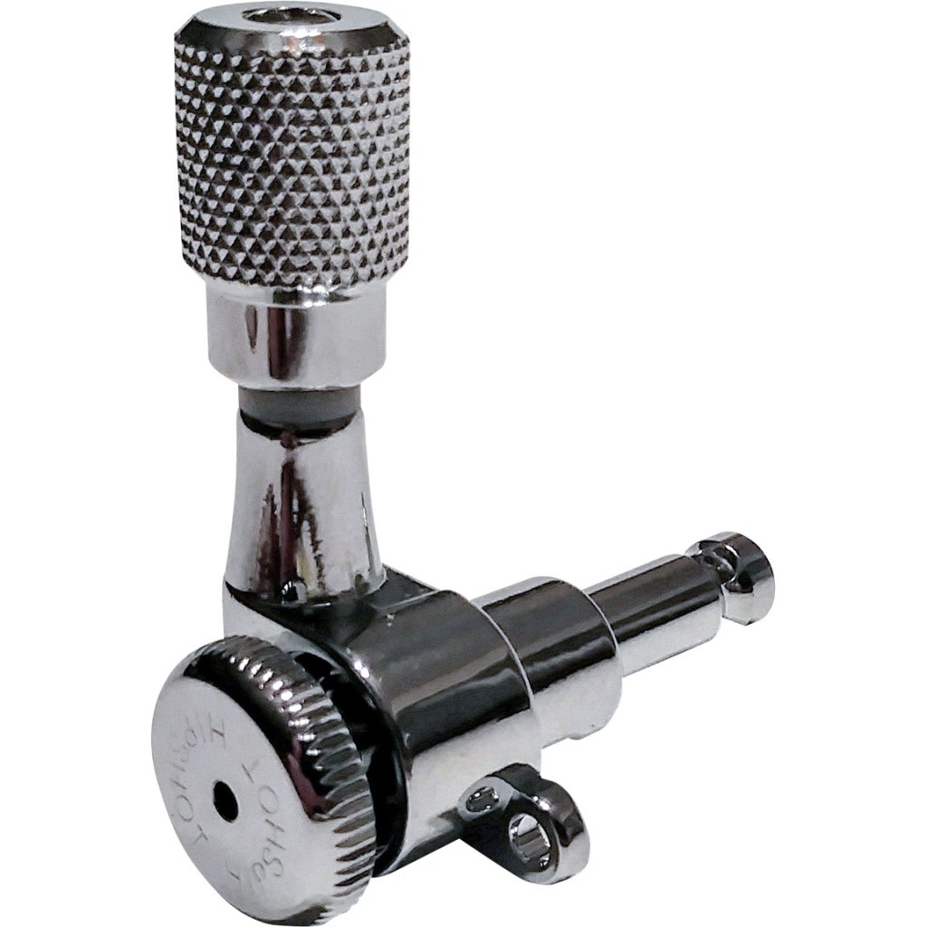 Hipshot Grip-Lock™ Closed Guitar Tuning Machines - Chrome