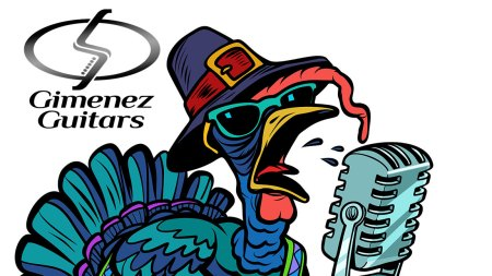 Happy Thanksgiving from Gimenez Guitatrs feature