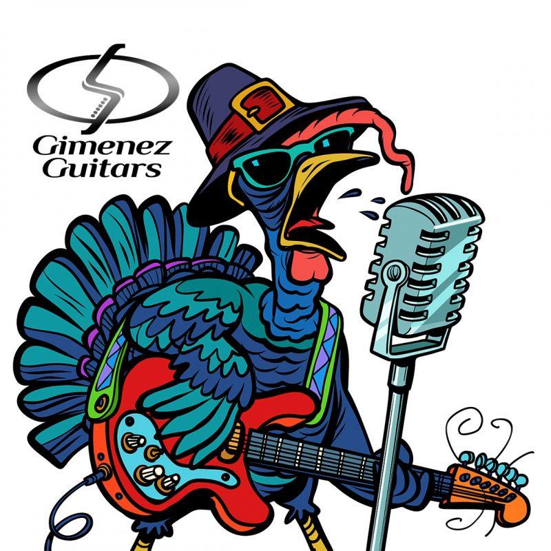 Happy Thanksgiving from Gimenez Guitars