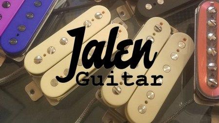 Jalen Guitar Pickups with Logo
