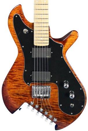 Gimenez Saint Flamed Maple Guitar