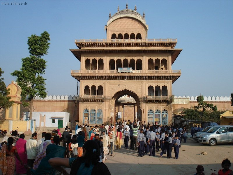 Rangaji-Tempel - Rajputisches Eingangstor