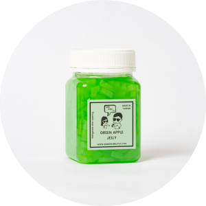 Green Apple Jelly Topping