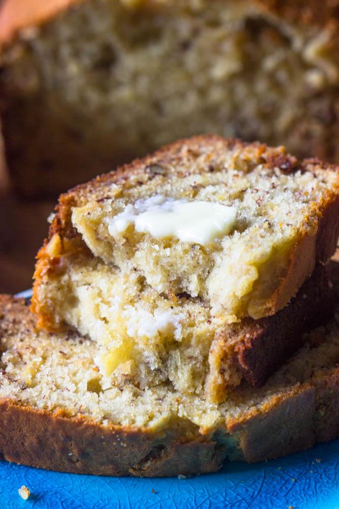 Easy No Fail Banana Bread