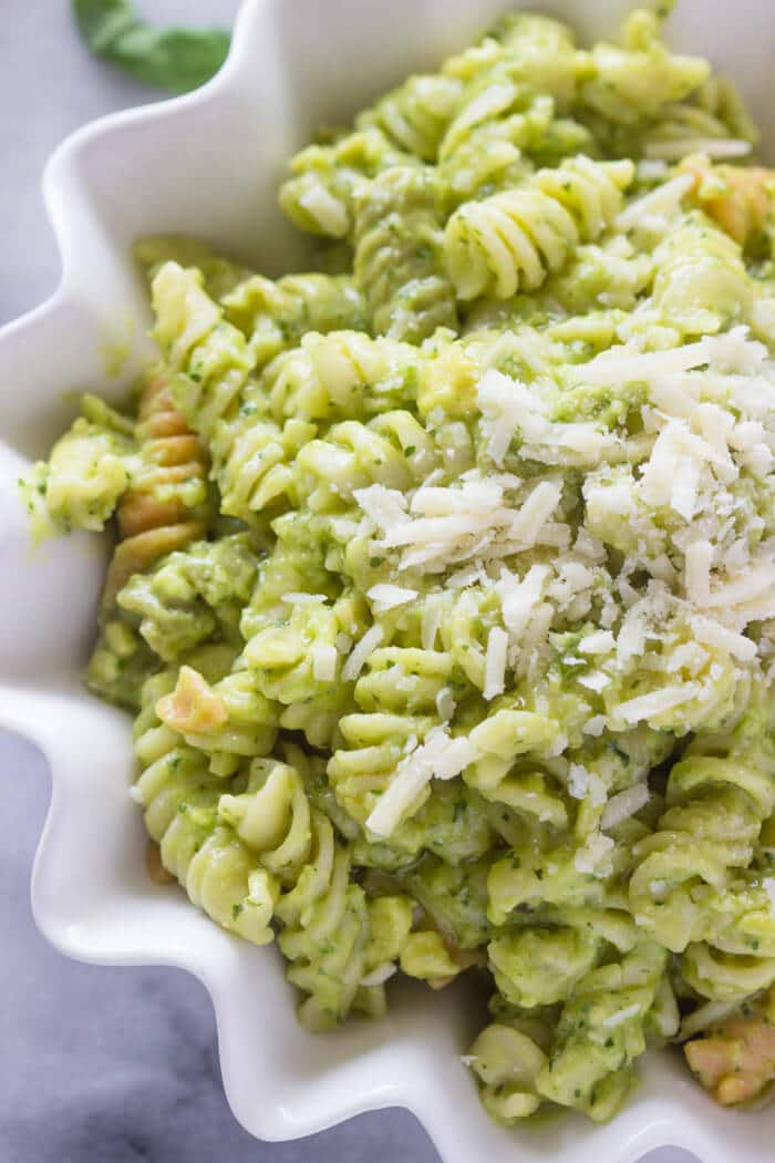 The Best Avocado Pasta