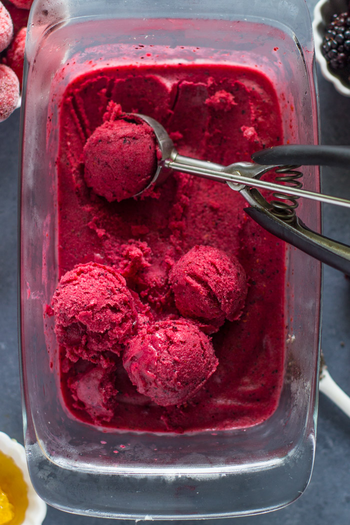Easy Homemade Berry Frozen Yogurt (14 of 30)