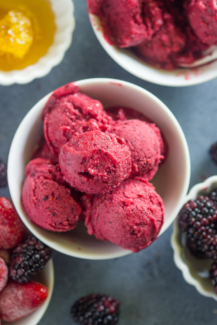 Easy Homemade Berry Frozen Yogurt (28 of 30)