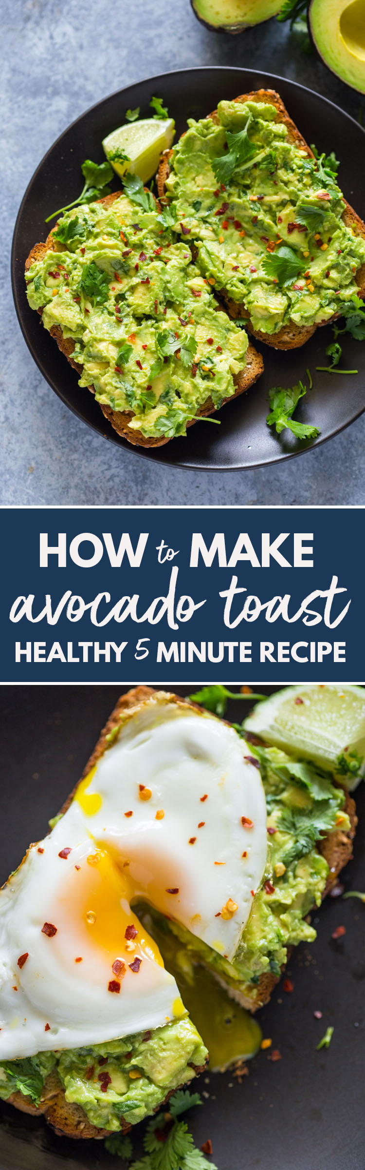 Healthy 5 Minute Avocado Toast