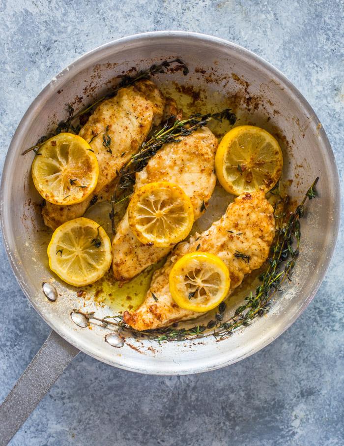 15 Minute Skillet Lemon Butter Chicken