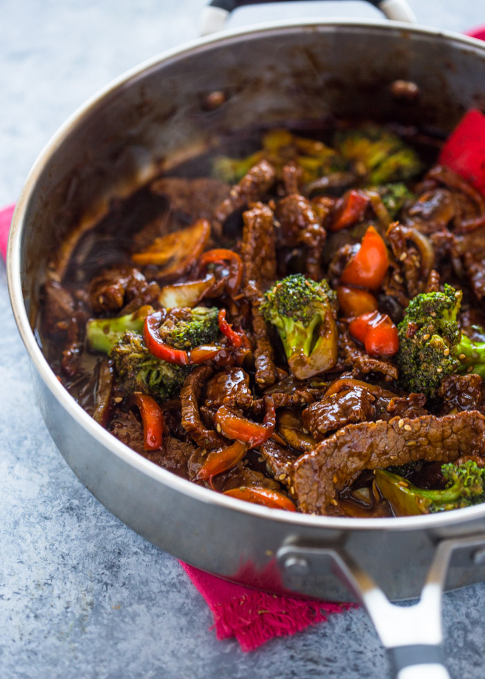Quick 15 Minute Beef and Broccoli Stir Fry