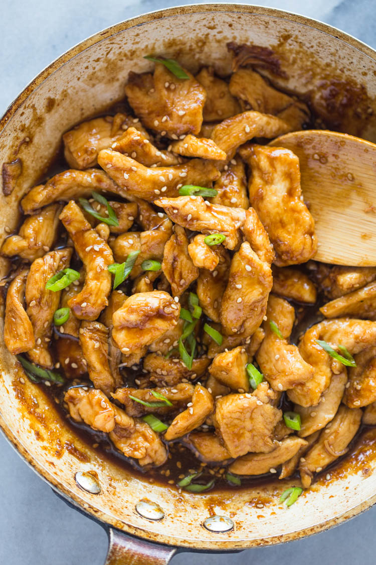 20 Minute Healthy Sesame Chicken
