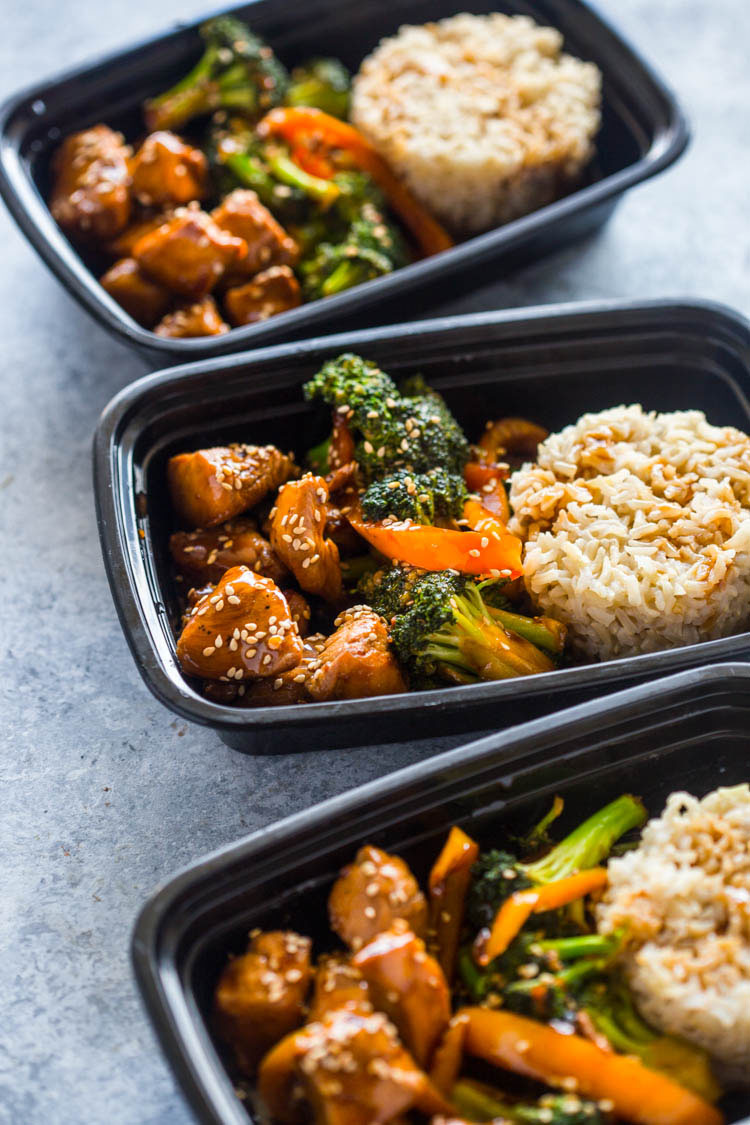 Meal Prep - Teriyaki Chicken and Broccoli