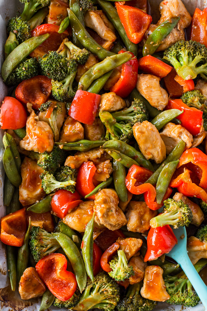 Baked Sweet Chili Chicken Veggies Gimme Delicious