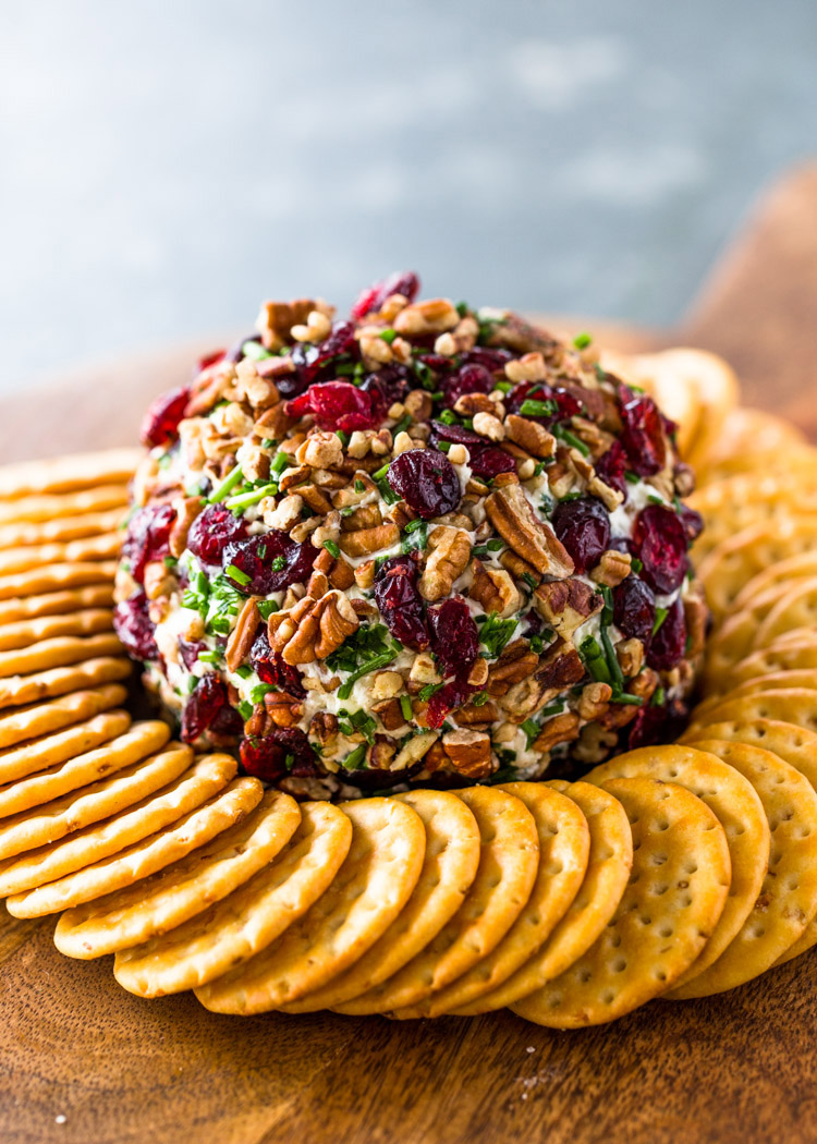 Cranberry Pecan Cheese Ball